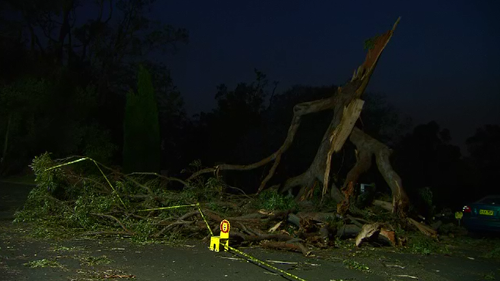 Almost 45,000 homes and businesses are still without power after extreme weather hit yesterday afternoon.