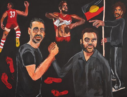 Archibald Prize 2020 Adam Goodes Vincent Namatjira becomes first Indigenous winner