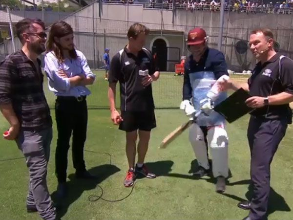 Mumford and Sons singer drops cricket F-bomb