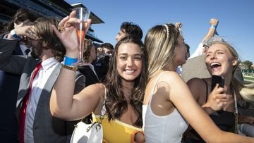 Crowds gather for the Everest race day at Royal Randwick Racecourse, Sydney