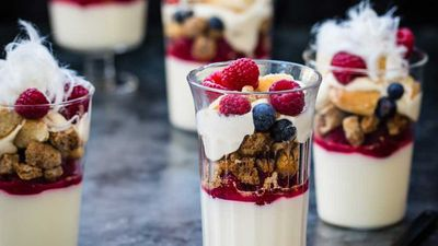 """Click through for our <a href=""""http://kitchen.nine.com.au/2016/12/20/20/39/fulton-family-christmas-trifles"""" target=""""_top"""">Fulton family Christmas trifles</a> recipe"""