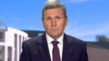 "Chris Uhlmann said Donald Trump's response to the violence shows a ""vacuum of leadership""."