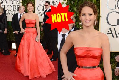 Screw the hunger games, Jennifer looks positively edible!