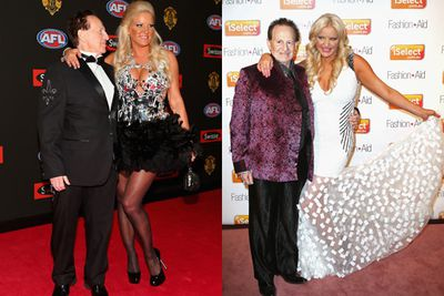 The pair split in January 2014 after four years of marriage.<br/><br/>Reports claimed Geoffrey cheated on Brynne in 2012 with a New Jersey woman he met on sugardaddyforme.com and took on holiday to Florida. 'I never cheated on my husband and he did deny that he'd been unfaithful, but I struggled to believe him,' Brynne told <i>New Idea</i> earlier this year.<br/><br/>Images: Getty