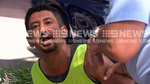 The truck driver has been charged with drink driving.