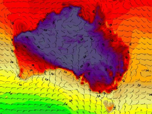 Heatwaves are set to batter parts of Australia this weekend.