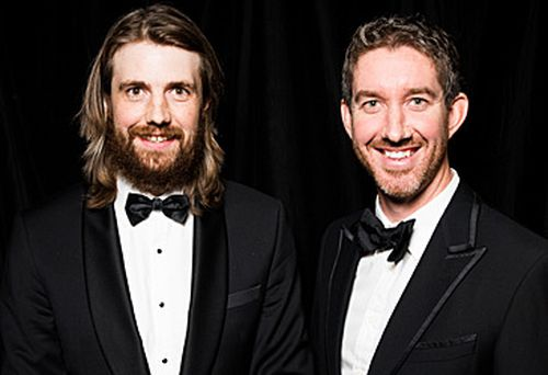 Mike Cannon-Brookes and Scott Farquhar (Getty)