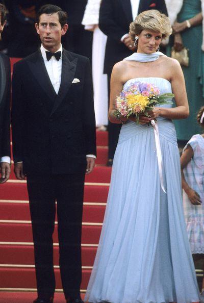 Prince Charles and Princess Diana, 1987.
