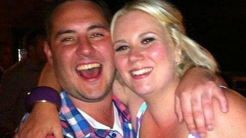 Matthew James was shot while protecting his fiancee Saera Wilson. (Supplied)