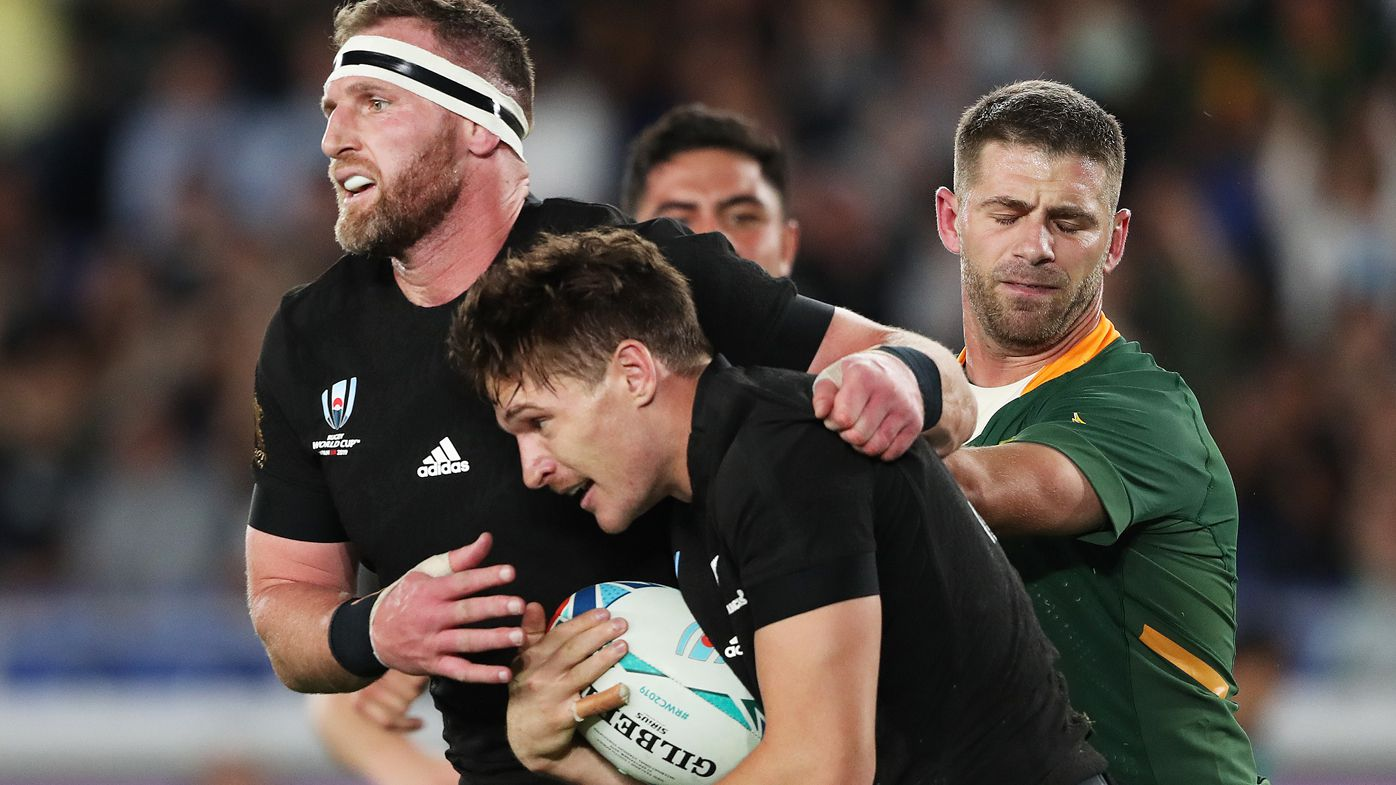 All Blacks captain Kieran Read gets away with cheap shot against Springboks