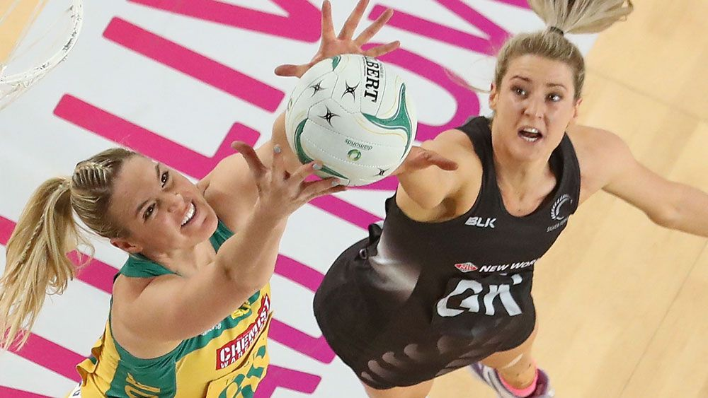 Caitlin Bassett starred for the Diamonds. (Getty Images)