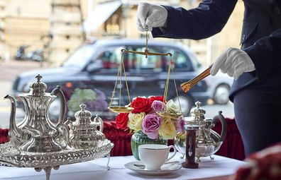 You can find London's -- and possibly the world's -- most expensive tea at The Rubens at The Palace.