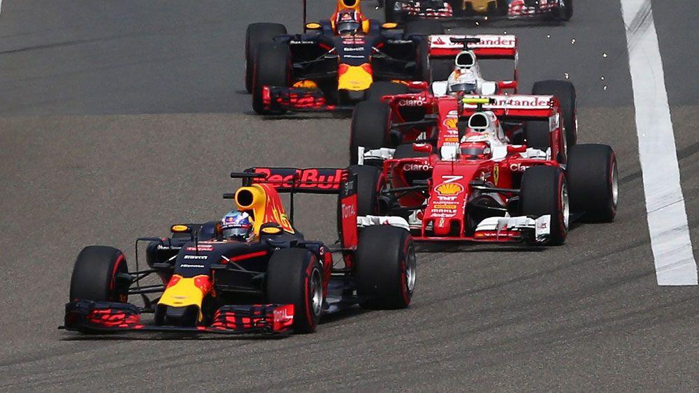 Chinese GP drive of my career: Ricciardo