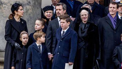 Princess Mary and emotional Danish royals farewell Prince Henrik
