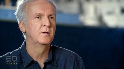 'Titanic' and 'Avatar' director James Cameron. (60 Minutes)