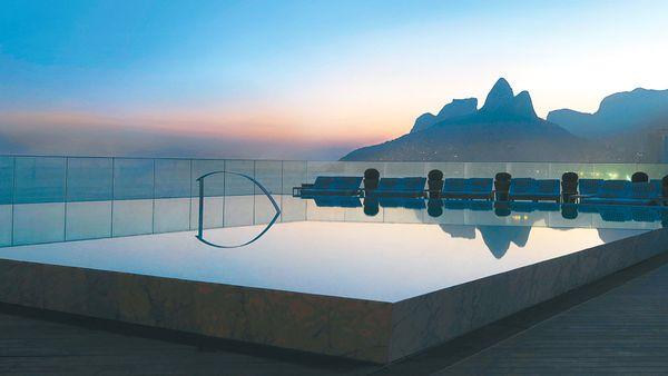 Fasano hotel pool (supplied)