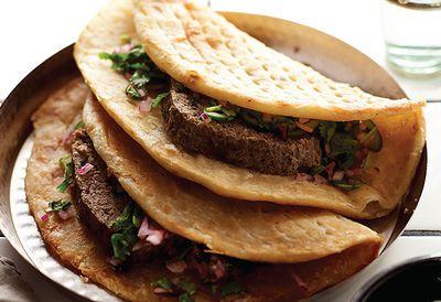 Hyderabad baked lamb kebab