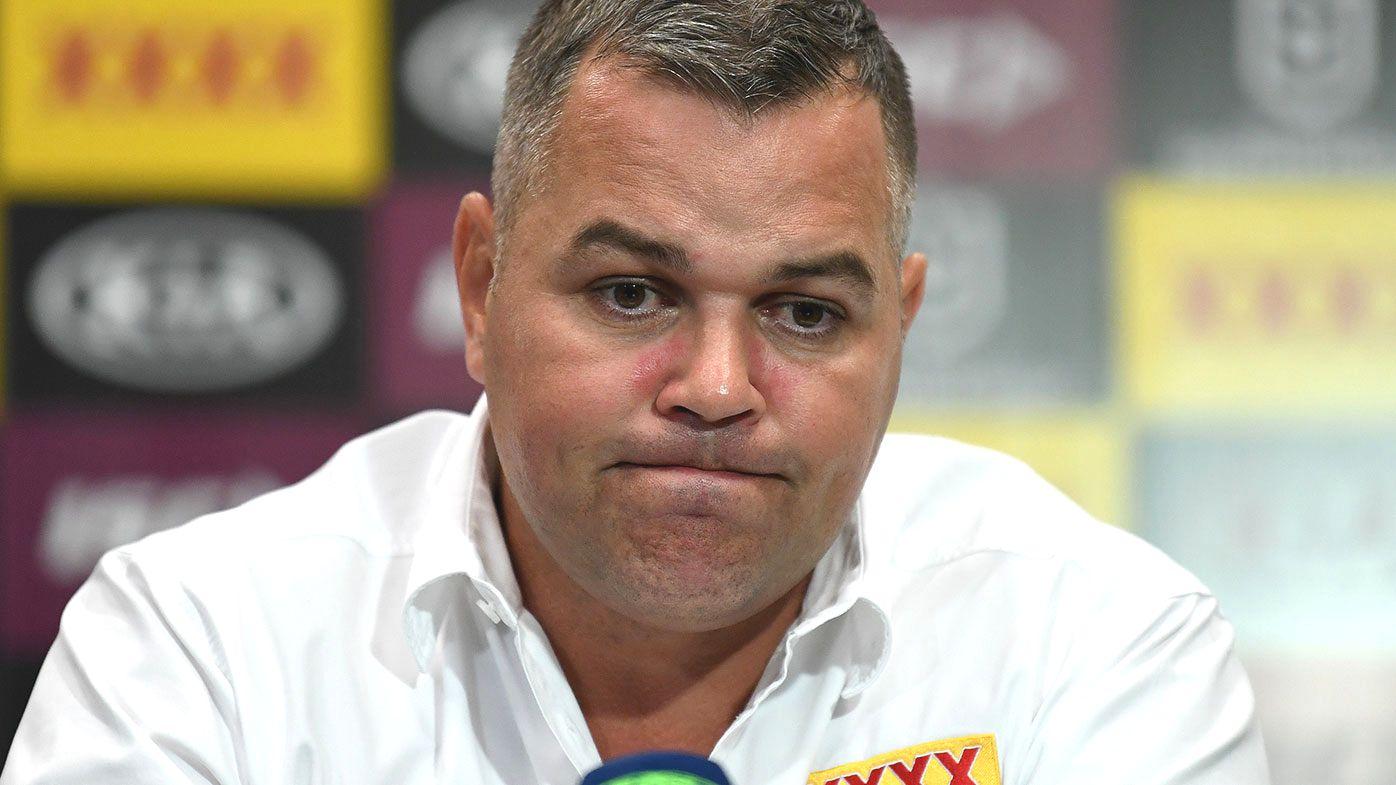 Brisbane coach Anthony Seibold.