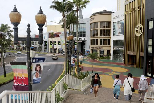 One of the bustling centres in Guam. (AAP)