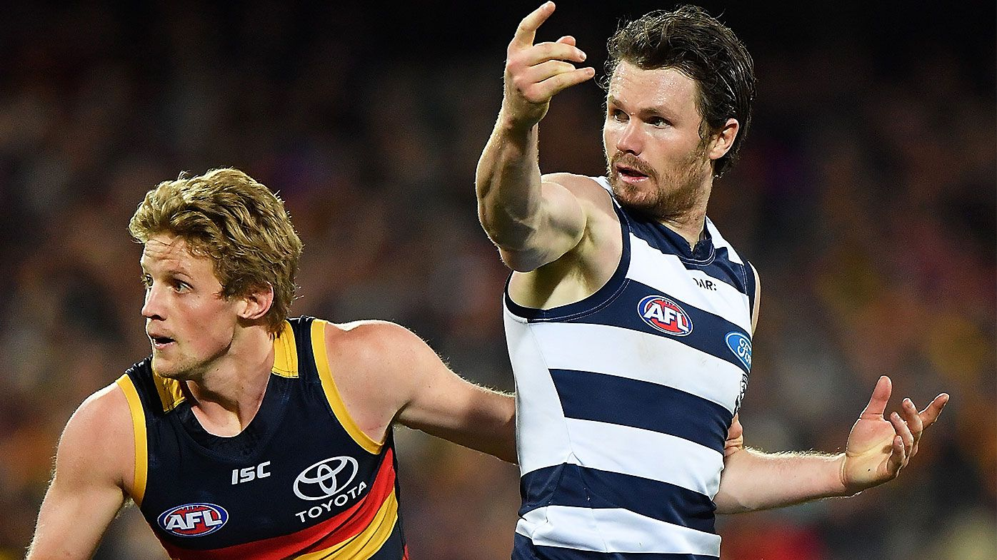 'Incredibly unlucky': Adelaide captain Rory Sloane defends ex-teammate Patrick Dangerfield over brutal bump