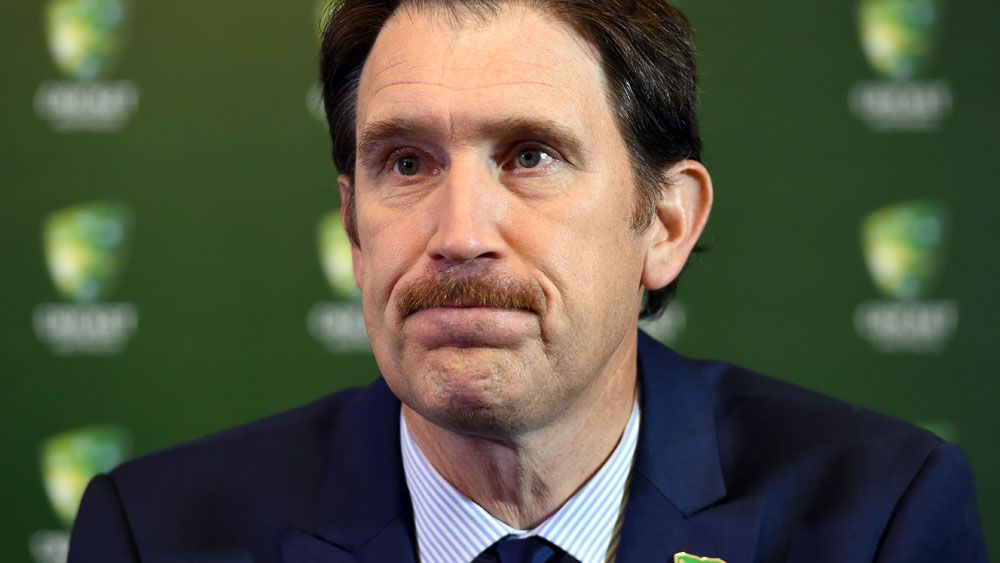 Cricket Australia boss James Sutherland has threatened to stop playing players after June 30. (AAP)
