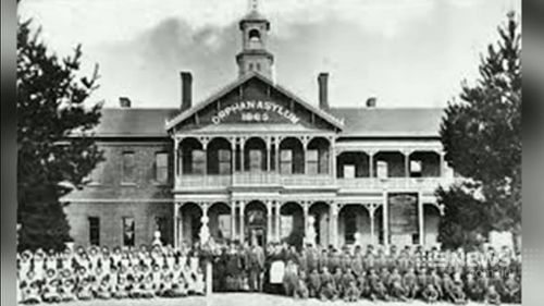The former Ballarat orphanage was built in the 1860s and closed in the 1980s. (9NEWS)