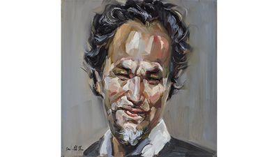 Wei Bin Chen, The artist - self portrait no 6.