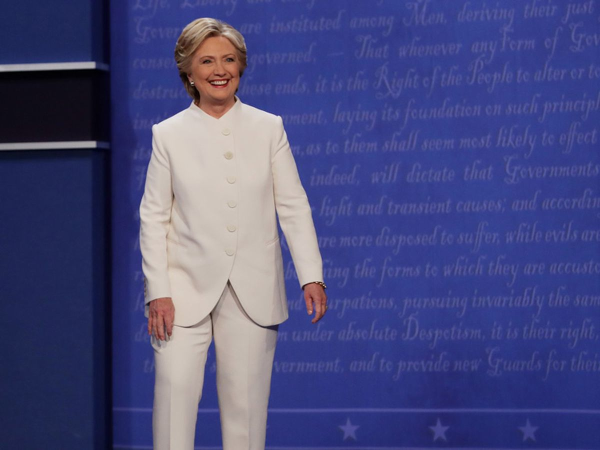 Hillary Clinton waves the white flag - 9Style