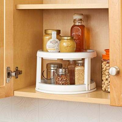 Twin Lazy Susan Turntable