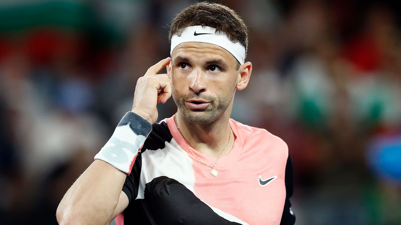 Grigor Dimitrov's reality check for whinging tennis stars
