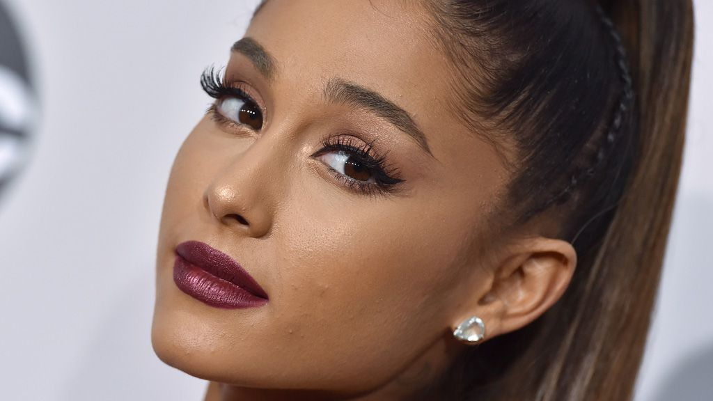 Ariana Grande's unlikely new look