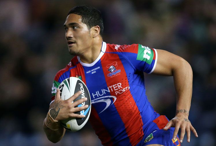 Selected for Australia after just 7 NRL games,  Sione Mata'utia, 18, could be anything.