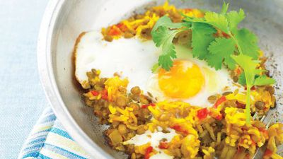 "<a href=""http://kitchen.nine.com.au/2016/05/13/11/35/rice-and-lentil-pilaf"" target=""_top"">Rice and lentil pilaf<br /> </a>"