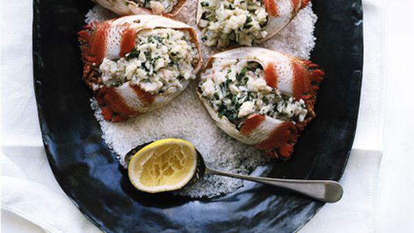 Spanner crab salad