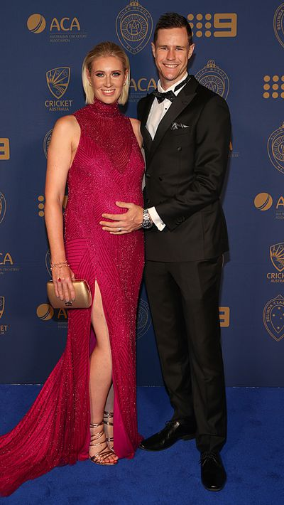 Jason Behrendorff and his wife Juvelle Behrendorff.