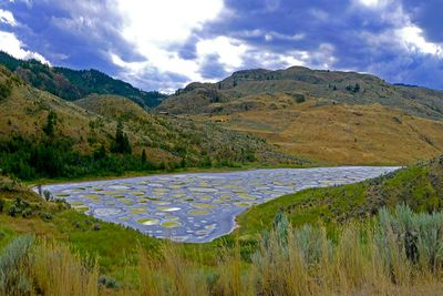 <strong>Spotted Lake, British Columbia, Canada</strong>