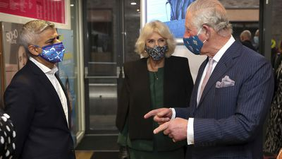 Prince Charles and Camilla enjoy a 'night out on the town'