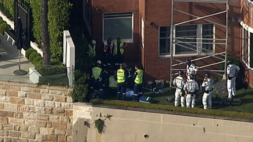 Man hurt in scaffolding accident in Sydney.