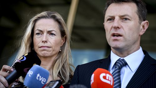 McCanns fail to stop 'not innocent' ruling in Maddie's disappearance