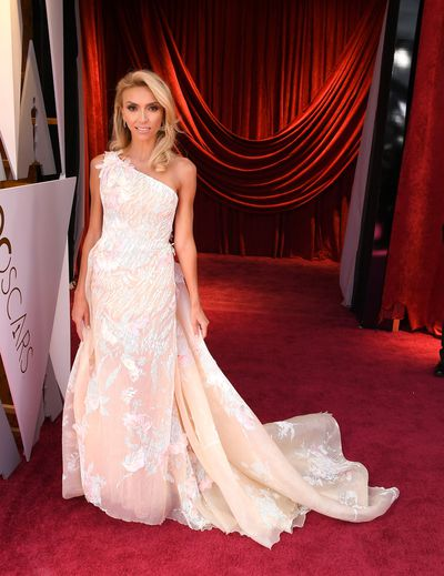 Giuliana Rancic in Georges Chakra Spring 2018 Couture