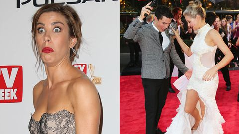 Logie's 2013 bloopers, wardrobe struggles and funny faces