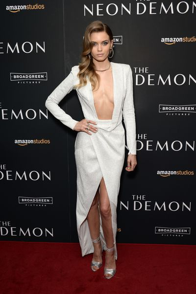 Abbey Lee attends the 'The Neon Demon' New York premiere at Metrograph on June 22, 2016 in New York City.