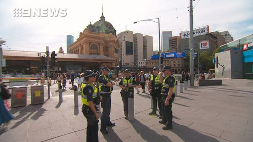 It's alleged the men plotted to attack Melbourne landmarks on Christmas Day.