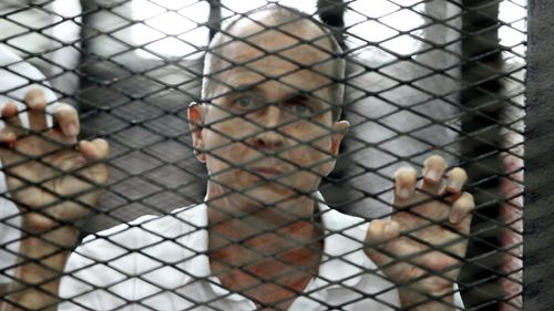 Egypt considering pardon for jailed journalist Peter Greste