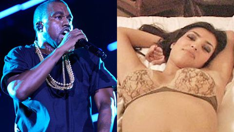 'My girl is a superstar all from a home movie': Kanye brags about Kim's sex tape in new song