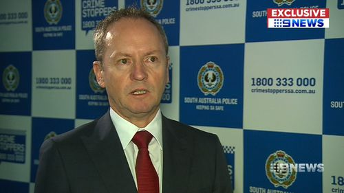 Major Crime detectives are now leading the investigation into Mr Redman's disappearance. Picture: 9NEWS