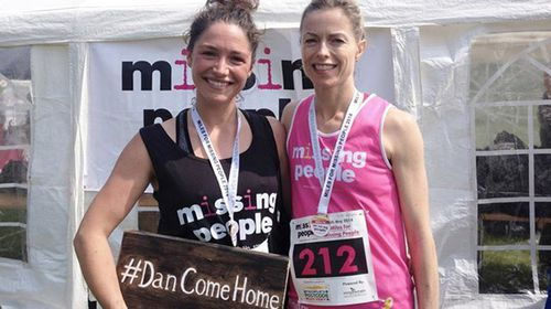 Loren O'Keeffe meets Kate McCann, the mother of missing British girl Madeleine. (Supplied)