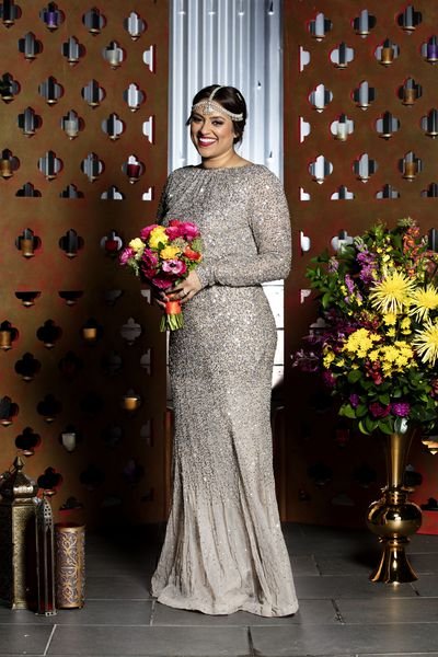 <em>Married at First Sight</em>'s Charlene on her big day