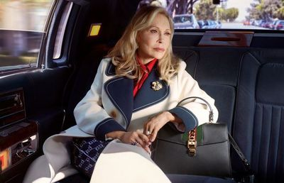 "Hollywood icon and actress, Faye Dunaway, in Gucci's latest campaign, is another example of fashion finally<a href=""http://https://style.nine.com.au/2018/06/22/10/53/brooke-shields-swimwear-bikini-body"" target=""_blank"" title="" accepting the beauty of ageing."" draggable=""false""> accepting the beauty of ageing.</a><br /> <br /> The 77-year-old The Thomas Crown Affair star lends her signature poise and elegance to a series of images - snapped by Petra Collins- to promote the luxury Italian label&rsquo;s Sylvie bag.<br /> <br /> Dunaway, who has won an Oscar, three golden globes and an Emmy for her acting work, has been something of a muse to Gucci creative director, Alessandro Michele.<br /> <br /> For his first show at the helm of the fashion in house in 2015, Michele sent models down the runway in red berets, a homage to the actresses&rsquo; iconic character, Bonnie Parker, from the slick 1967 crime film <em>Bonnie and Clyde.<br /> </em><br /> ""It&rsquo;s lovely to think some of my characters are inspiring the young creatives. I feel very humbled by the idea that I have inspired Alessandro,&rdquo; Dunaway told <a href=""https://www.vogue.com/article/faye-dunaway-gucci-campaign"" target=""_blank"" title=""US Vogue."" draggable=""false""><em>US Vogue.</em></a><br /> <br /> We laboured over getting it right; I was a lucky woman, so I chose carefully how my characters would be remembered. I still have a strict eye for detail,"" she added.<br /> <br /> The Italian fashion house seems to be at the forefront of age diversity in the fashion world. <br /> <br /> 79-year-old actress Vanessa Redgrave and 88-year-old Hitchock muse Tippi Hedren have also lent their legacy and faces to the brand over the past year.<br /> <br /> Click through to see the graceful older woman joining Dunaway in challenging the standards of beauty."
