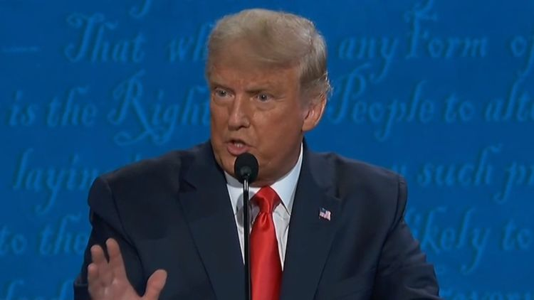 Third time lucky for presidential debate - with microphones turned off
